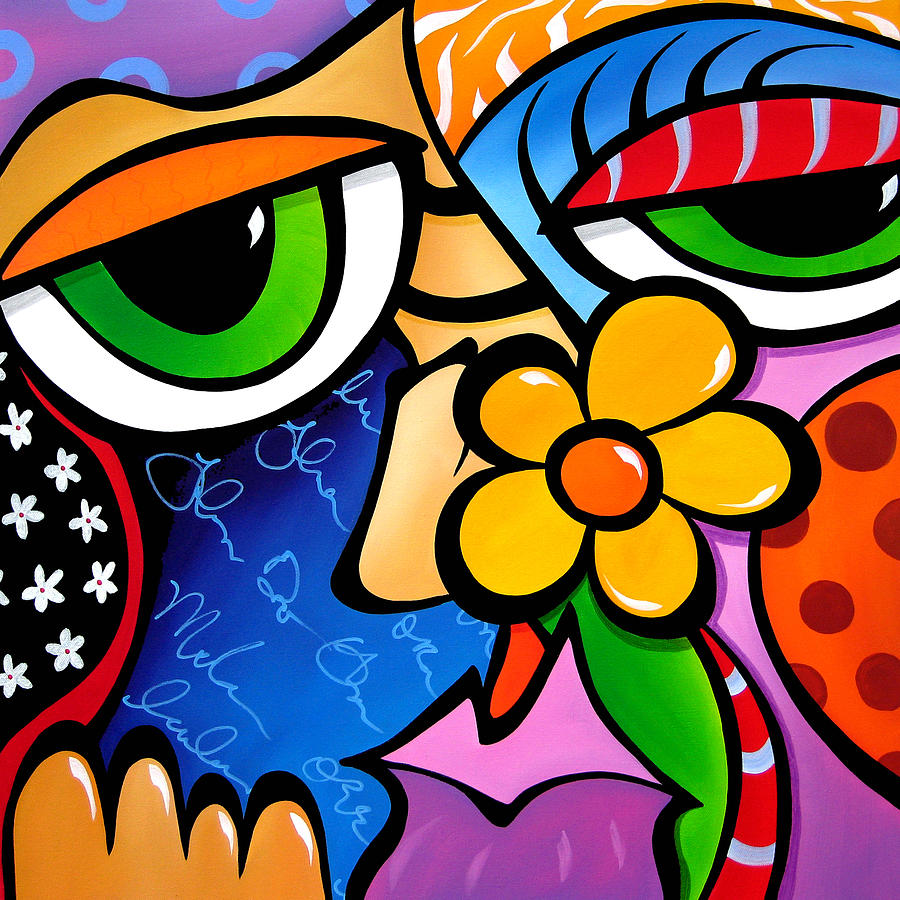 Школе стиль поп арт в живописи Хайнунсе