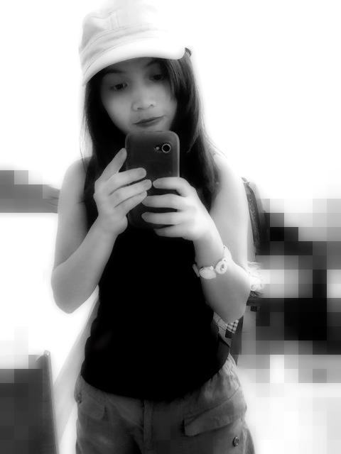 people cute love black & white selfie