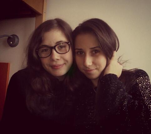 nebuna mea:* (my crazy girl:*) miss you!
