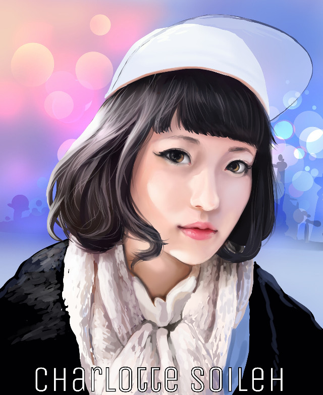 Painted in Manga Studio on Surface Pro. Referenced from a photograph found on tokyofashion.com