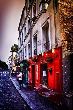 colorful montmartre paris photography quotes & sayings