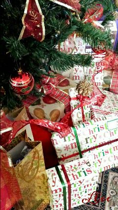 christmas presents hdr photography