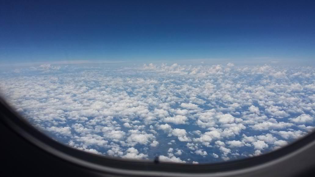 I soo love the clouds!