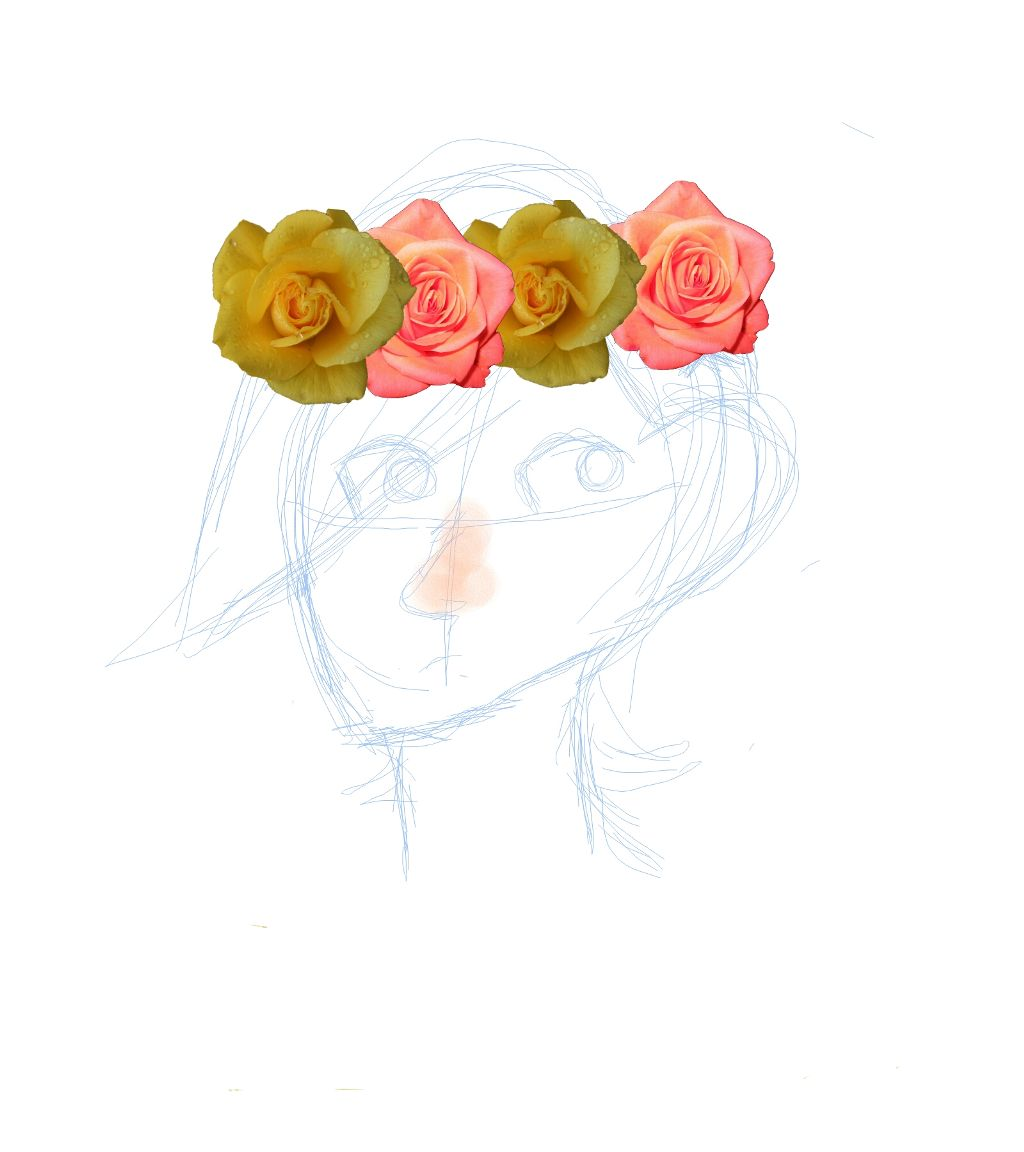 Sketch of aph norway in a flower crown huzzah sketch of aph norway in a flower crown huzzah izmirmasajfo
