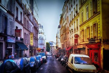 street quotes & sayings photography montmartre paris