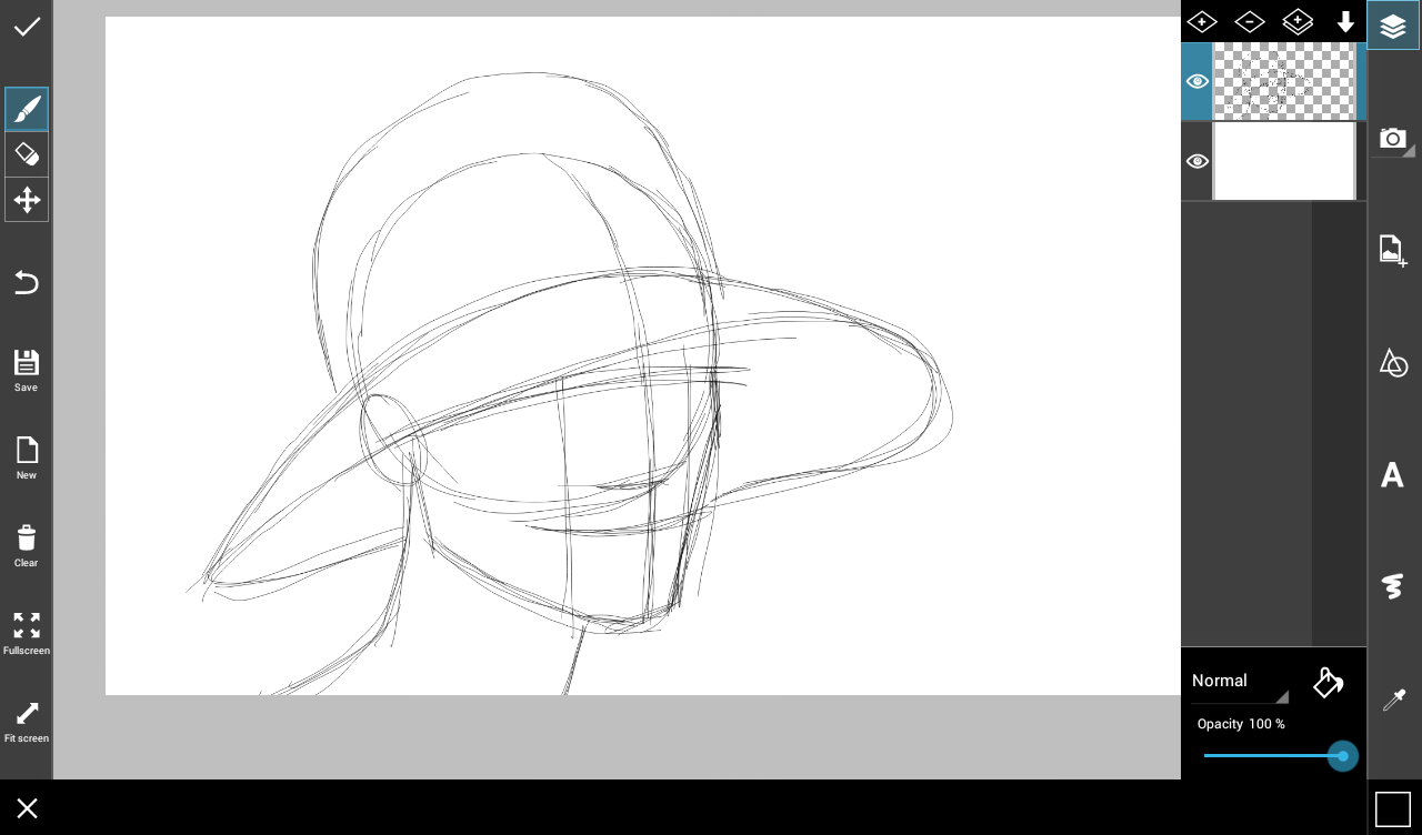 how to draw a hat