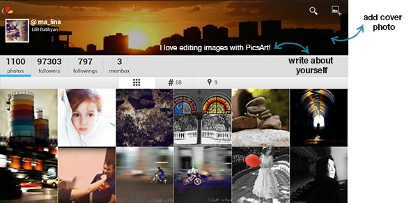 PicsArt new Profile design
