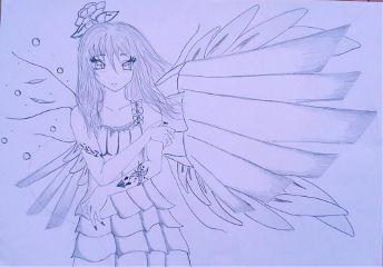 pencil art drawing manga bored fun