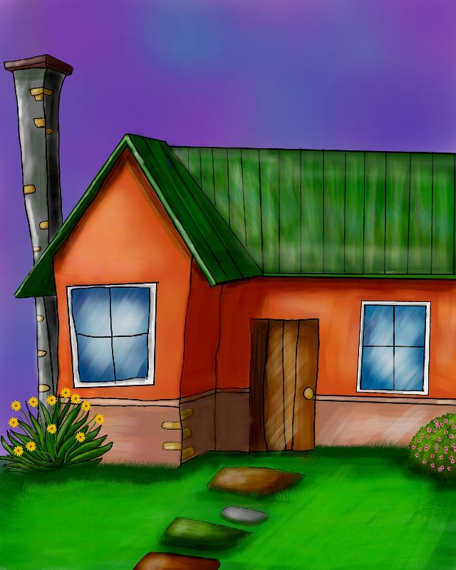 house drawing contgest