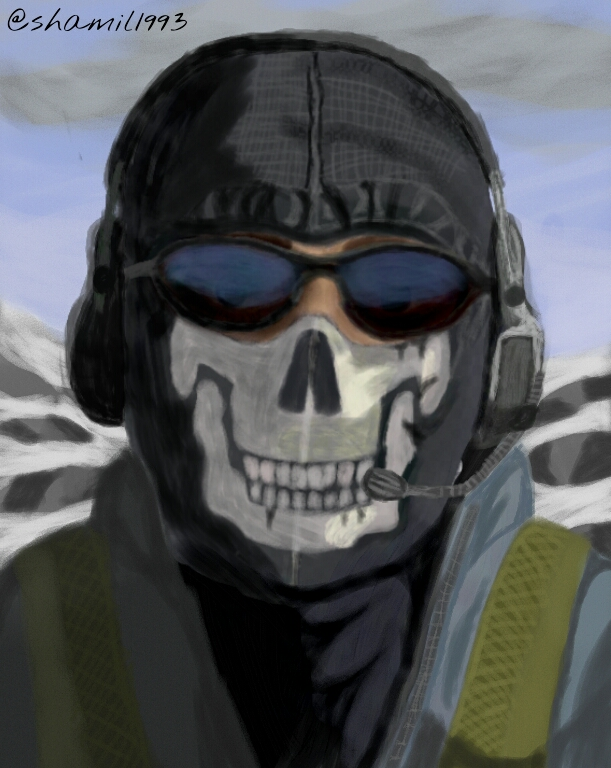 Simon Quot Ghost Quot Riley Cod Mw2 Character For Mask Contest